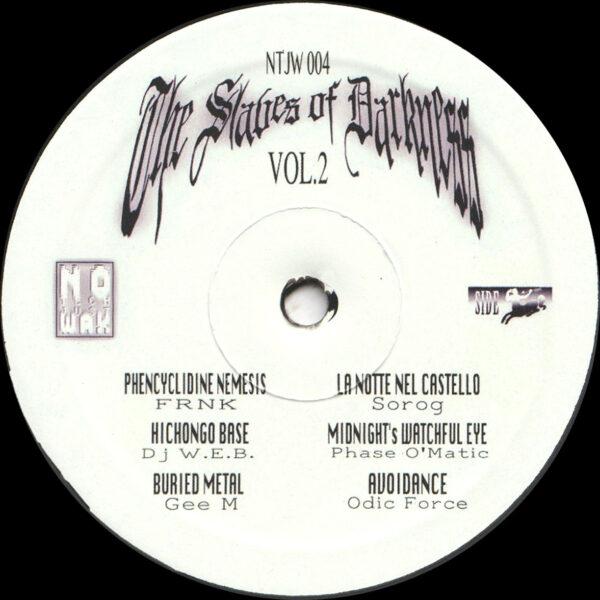 "Various - The Slaves of Darkness Vol. 2 - 12"" (NTJW004)"