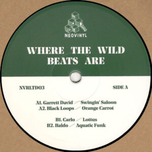 "Garrett David / Black Loops / Carlo / Baldo - Where The Wild Beats Are - 12"" (NVRLTD03)"