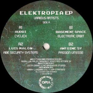 "Various - Elektropia EP - 12"" (OPIA001)"