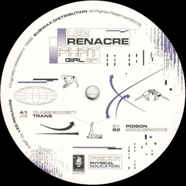 "Lee Renacre (100 Hz) - Phat Girl EP - 12"" (PE001)"