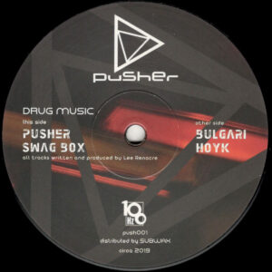 "Lee Renacre - Drug Music - 12"" (PUSH001)"