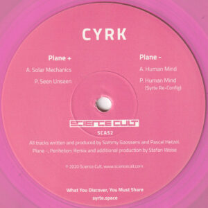 "CYRK - 656.281 (Incl. Syrte Re-Config) - 12"" (SCAS2)"