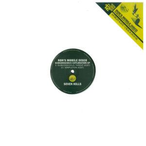 "Ron's Mobile Disco - Subconscious Exploration EP - 12"" (SHRR02)"