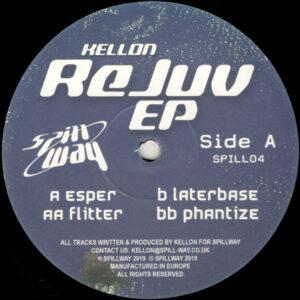 "Kellon - Rejuv EP - 12"" (SPILL04)"