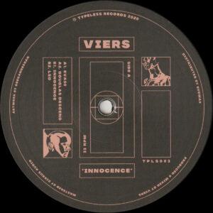 "Viers - Innocence - 12"" (TPLS003)"