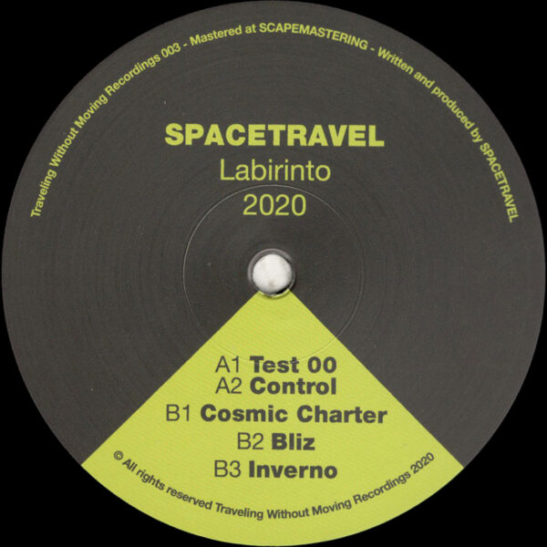 """Spacetravel - Labirinto 2020 - 12"""" (TWM003)"""