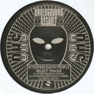 """D.H.S. - Attention Earth People (Select Tracks) - 12"""" (UA1202)"""