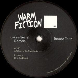 "Reade Truth - Love's Secret Domain - 12"" (WF02)"