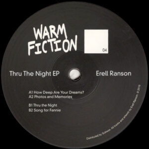 "Erell Ranson - Thru The Night EP - 12"" (WF04)"
