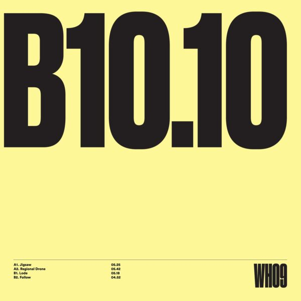 "Unknown Artist - WH09 - 12"" Black vinyl (WITHHOLD09)"