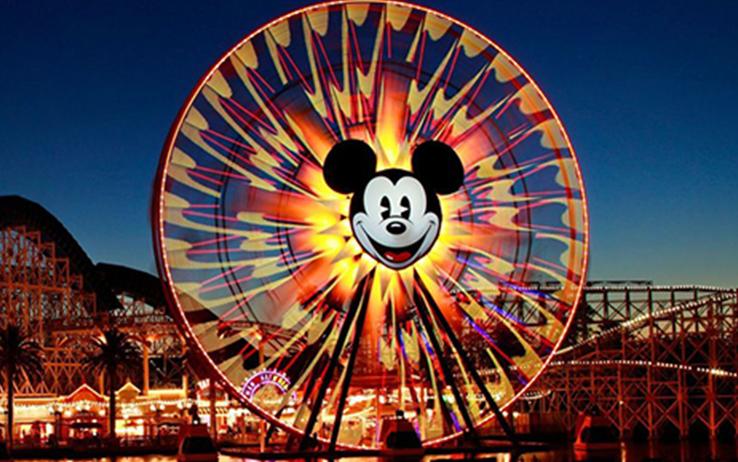 parque de atracciones Disney