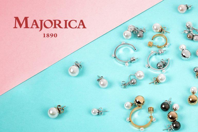 pendientes de perlas Majorica
