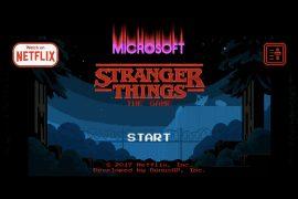 Stranger Things y Microsoft