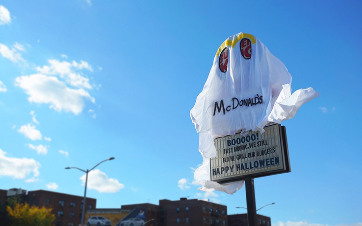 Burger King en Halloween