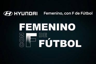 Hyundai apoya al futbol femenino