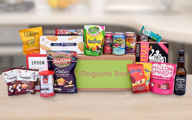 caja alimentos novedosos