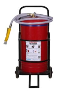 Dry Powder Mobile Type Fire Extinguishers