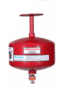 Clean Agent Ceiling Mounted Type Fire Extinguishers