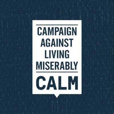 CALM Helpline : 0800 58 58 58