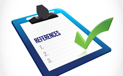 Duty of care on giving a reference