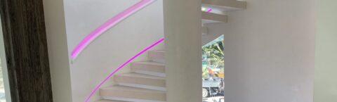 Illuminated Handrails
