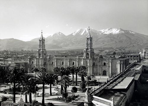 Arequipa: Plaza de Armas circa 1930