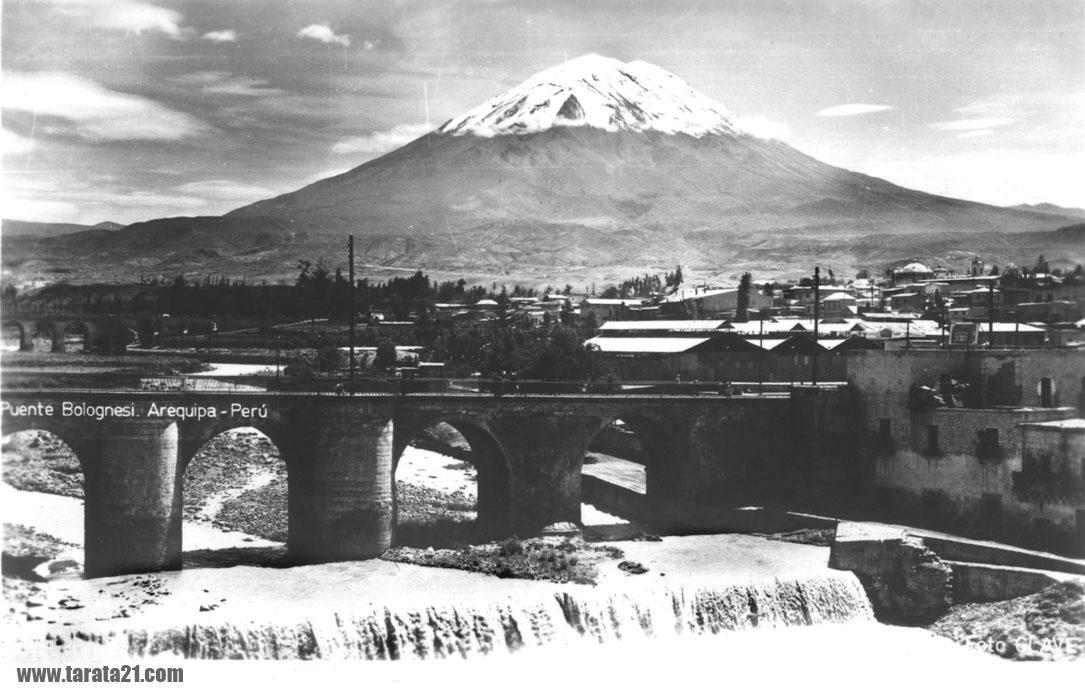 Arequipa: El Misti volcano circa 1930