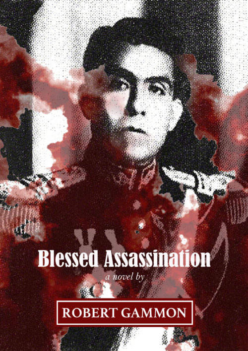 Blessed Assassination - Cover design Lali