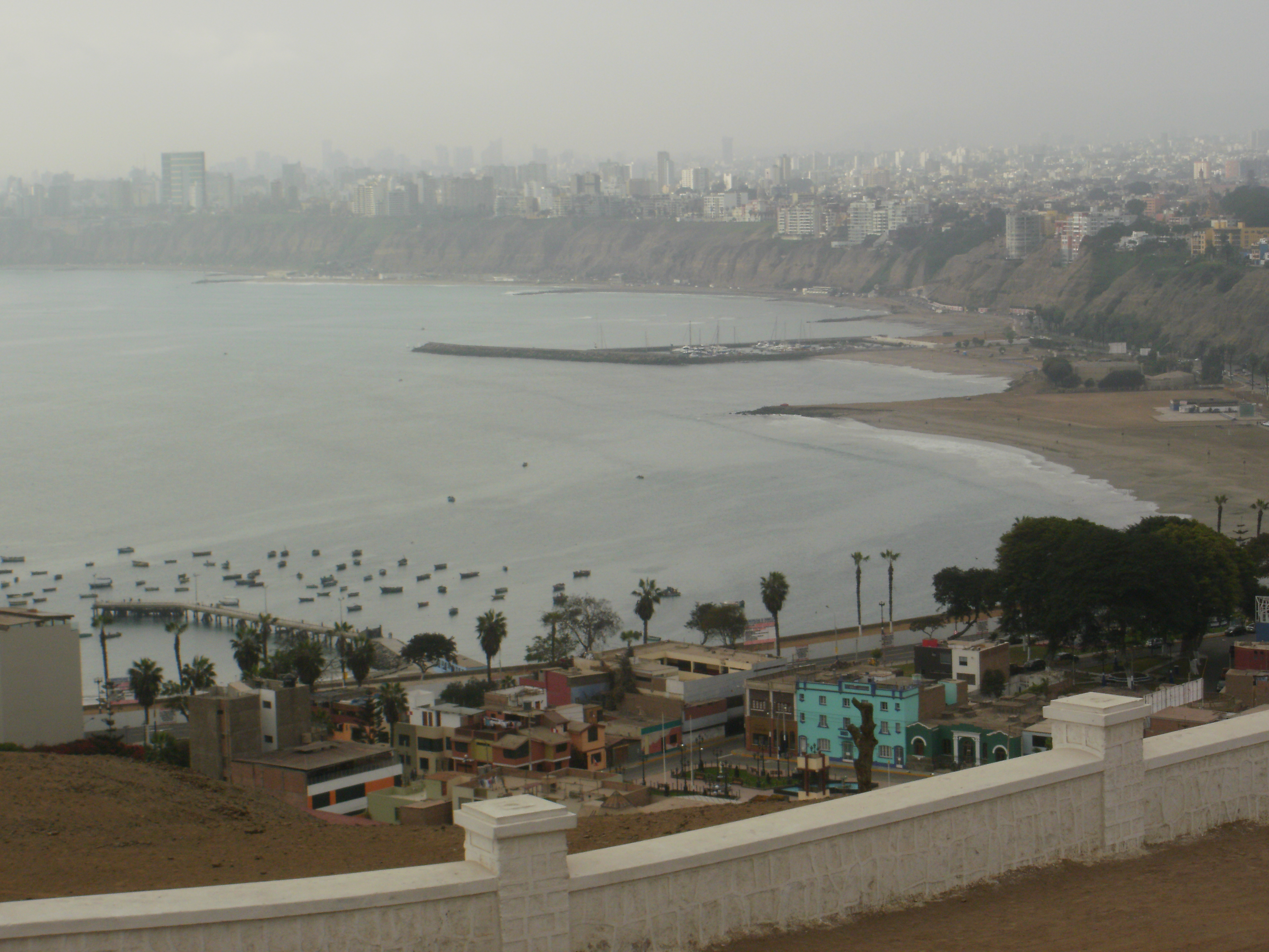 Chorrillos, south of Lima
