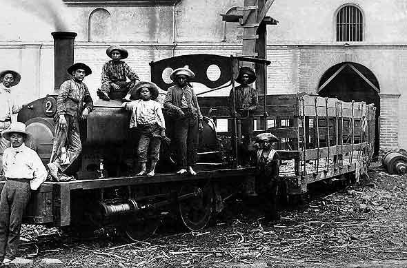 Hacienda railway, circa 1920