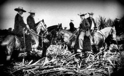 Landowners touring hacienda 1930