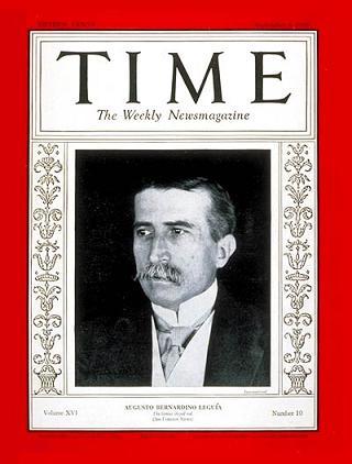 Leguía: Time, 8 September 1930