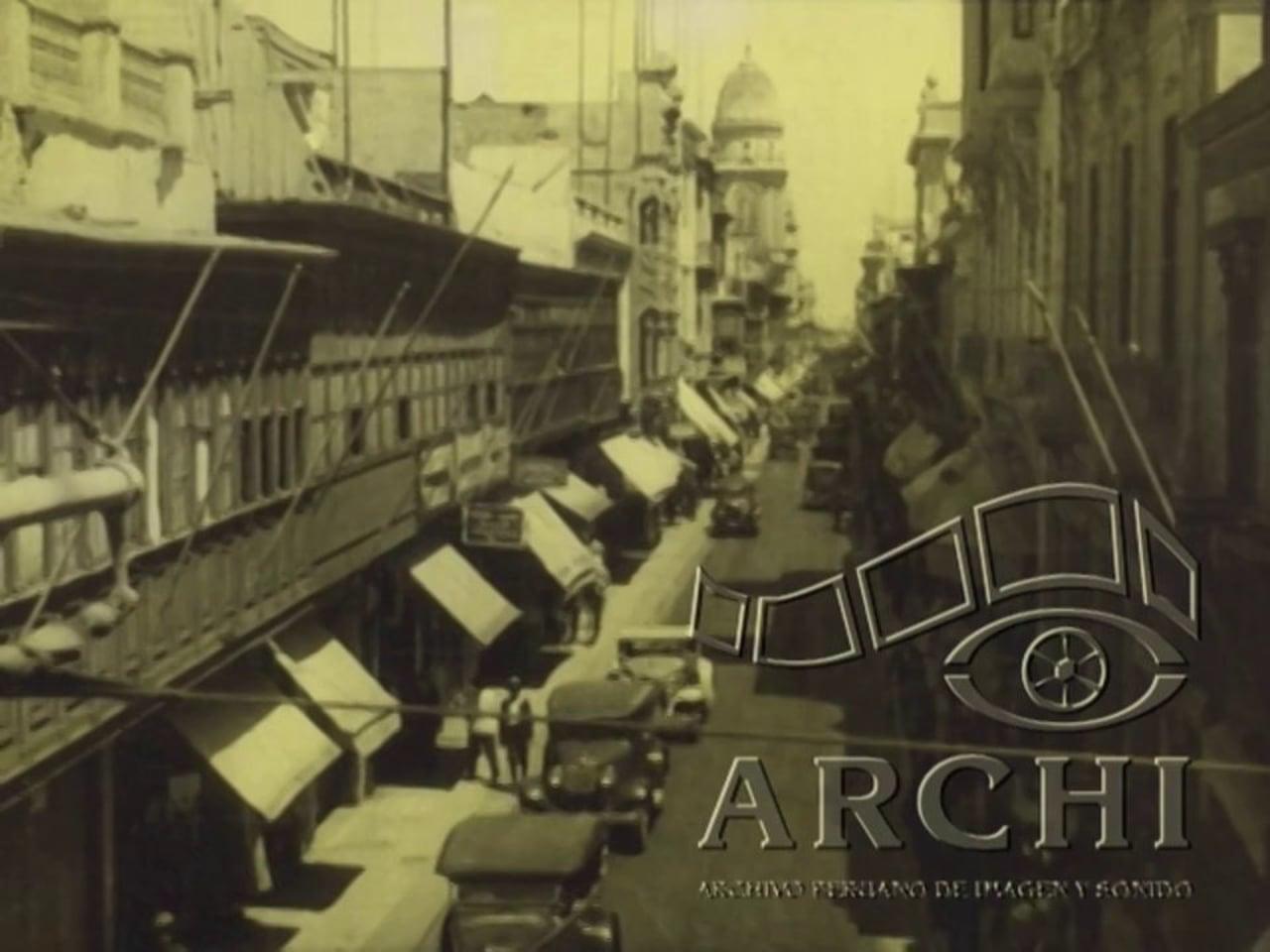Jirón de La Unión, Lima circa 1920