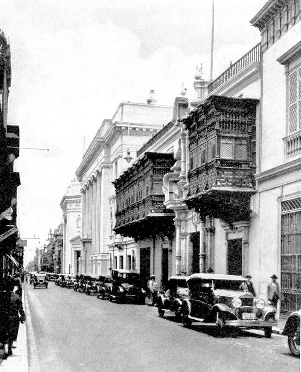 Palacio Torre Tagle, Lima 1930