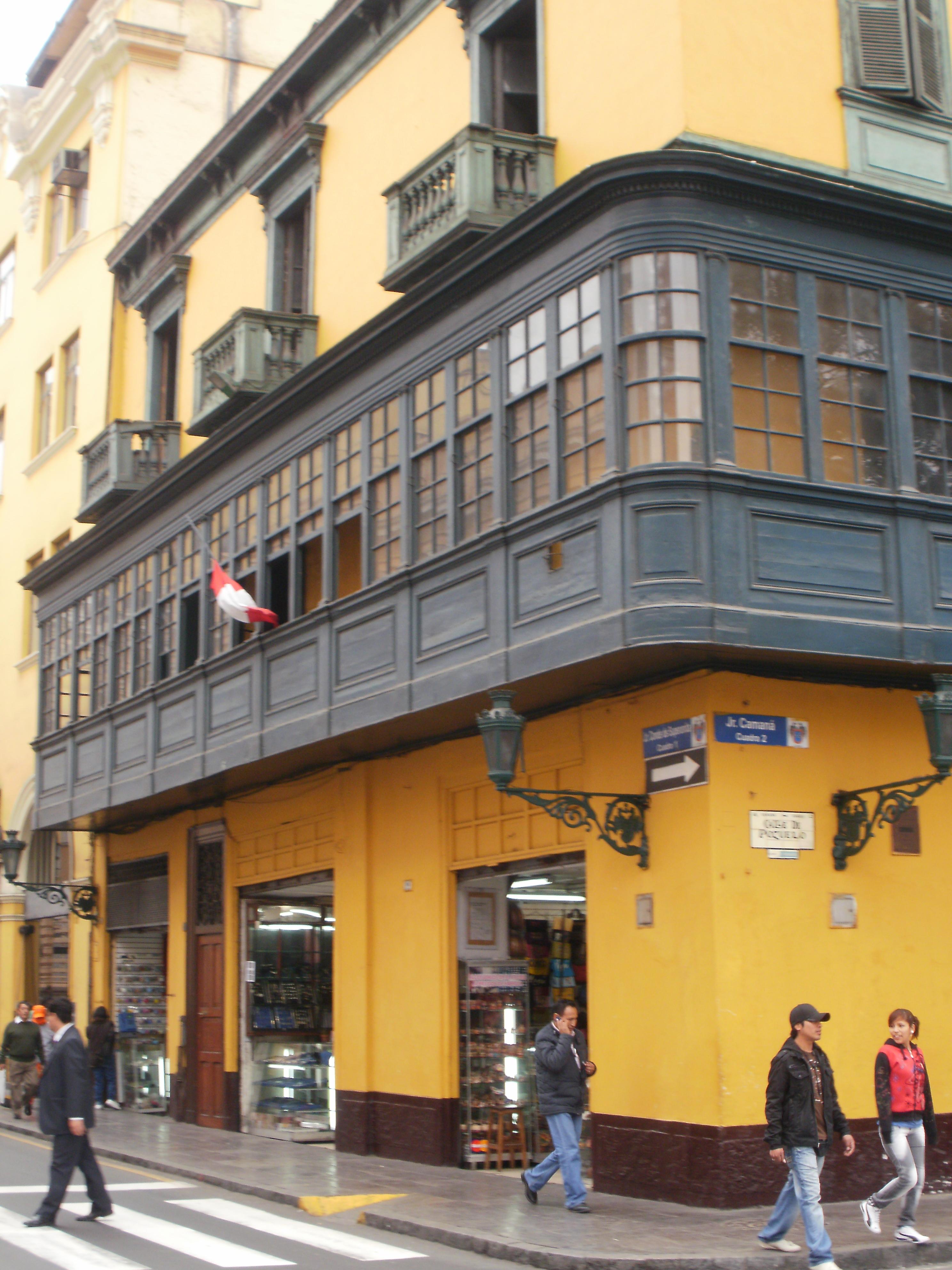 Lima: Hostal Zapata