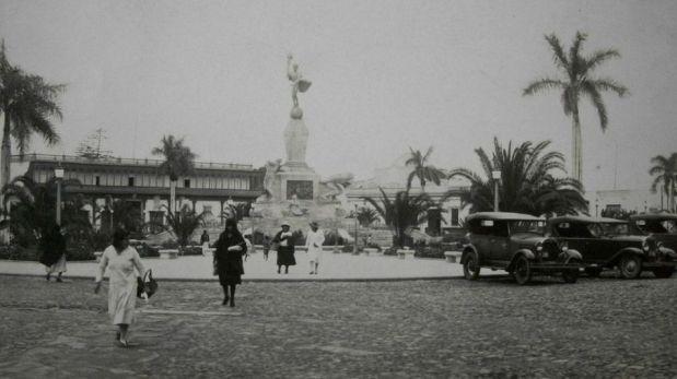 Trujillo: Plaza de Armas circa 1930
