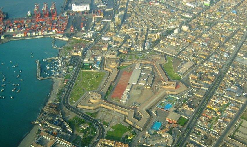 Callao´s Real Felipe fortress