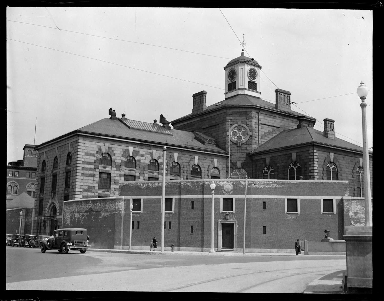 Charles Street jail Boston 1930
