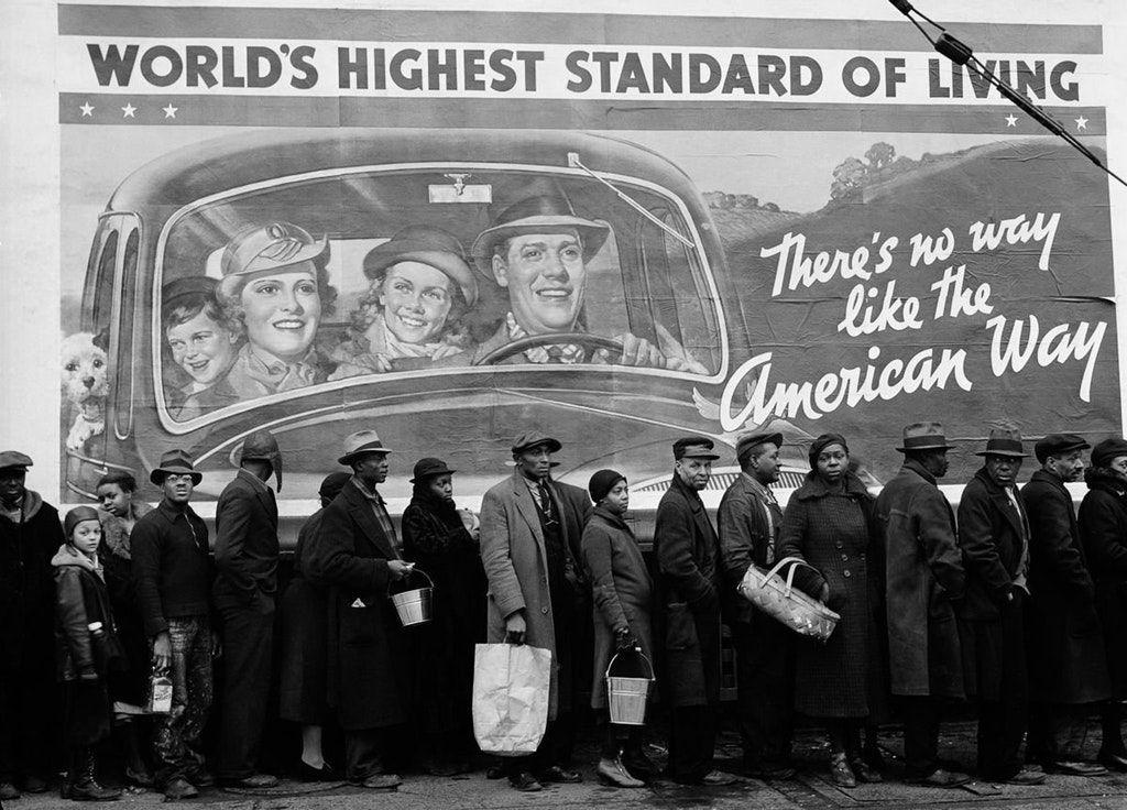 Great Depression unemployed 1930