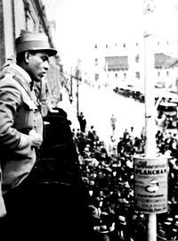 Palace balcony 1930