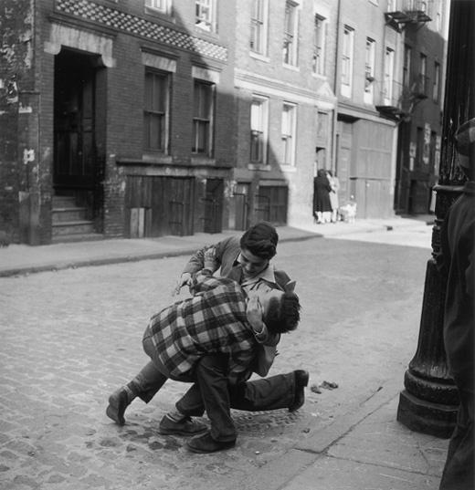 Boston street fight circa 1930