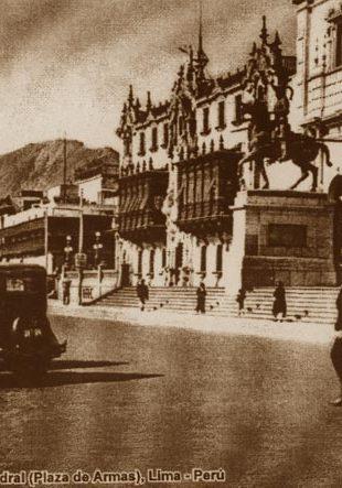 Plaza de Armas, circa 1930