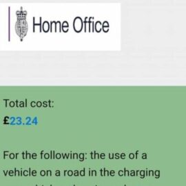 Beware – 'Home Office' Penalty Charge Notice SCAM