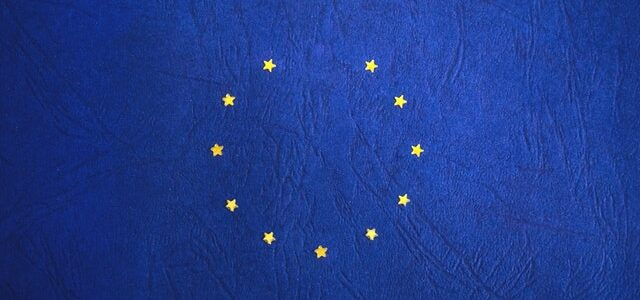 Brexit EU flag without Britain