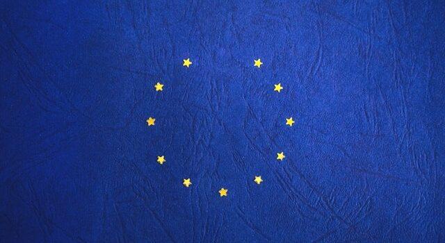 Brexit EU flag without Britain