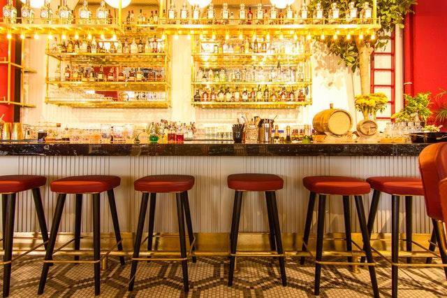 Diageo pension bar