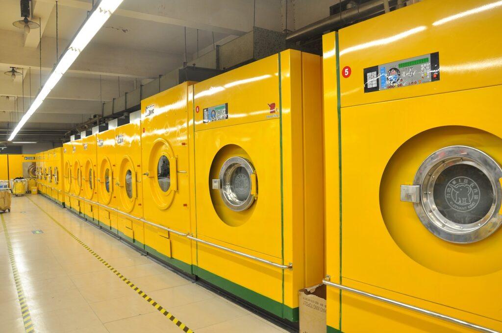 shop, laundry, washing machine