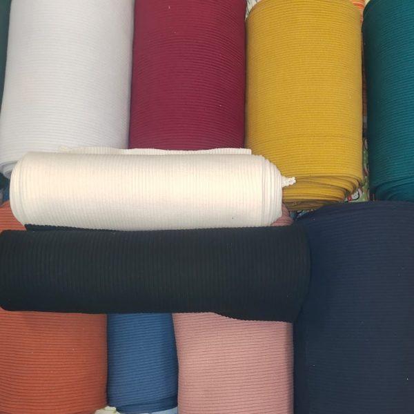 Cable Knit Ribbing Fabric