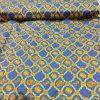 Cotton Lawn Chain Design Turquoise