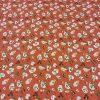 Cotton Lawn Lotus Orange